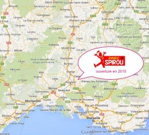Parc Spirou, près d'Avignon en France