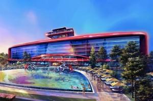 Première images du parc Ferrari de PortAventura en Espagne - ouverture en 2016