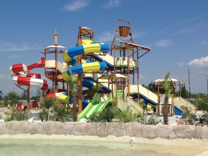 parc aquatique ouvert