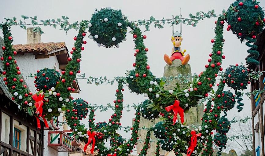 Noel au parc asterix en 2020