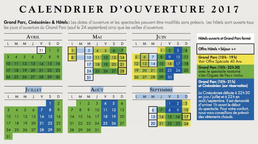 Calendrier Puy Du Fou 2020.Le Puy Du Fou A 40 Ans Nouveautes En Images Et Dates D