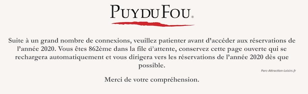 Calendrier Puy Du Fou 2020.Comment Reserver Ses Places Pour La Cinescenie 2020 Puy Du Fou