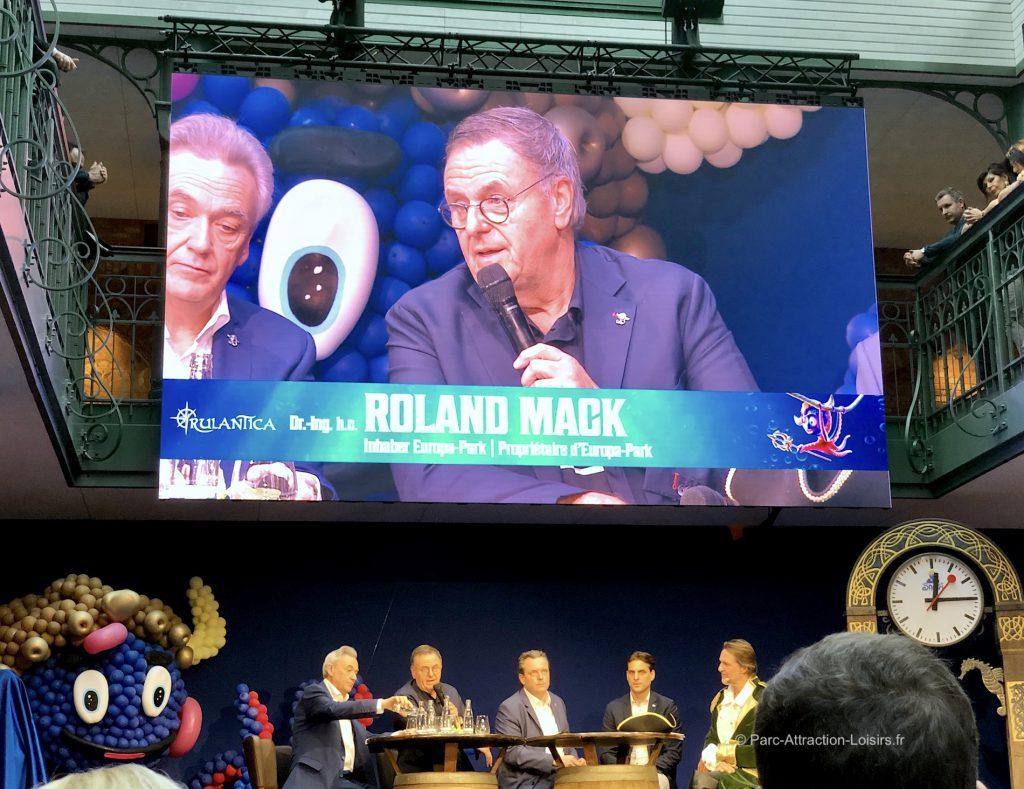 inauguration rulantica mack
