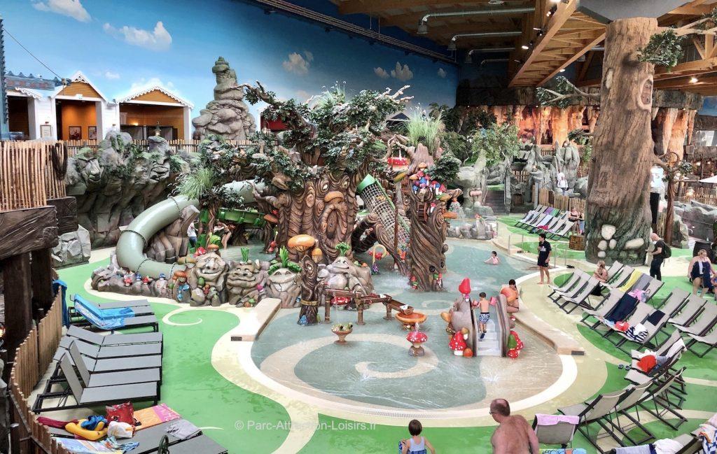 Trolldal rulantica parc aquatique pour enfants