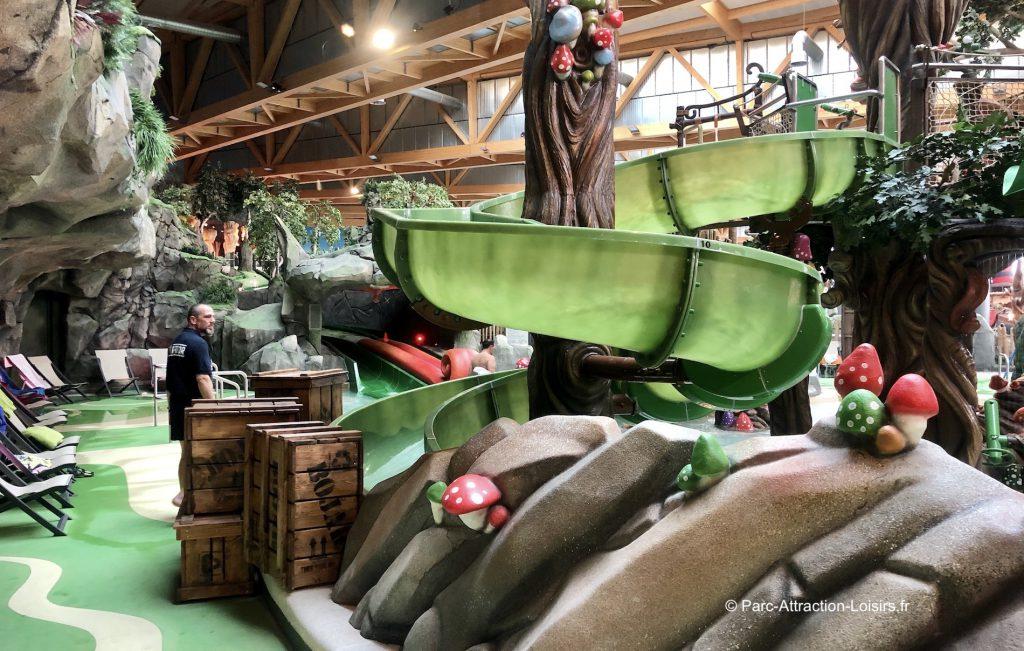 Trolldal rulantica parc bassin pour enfants