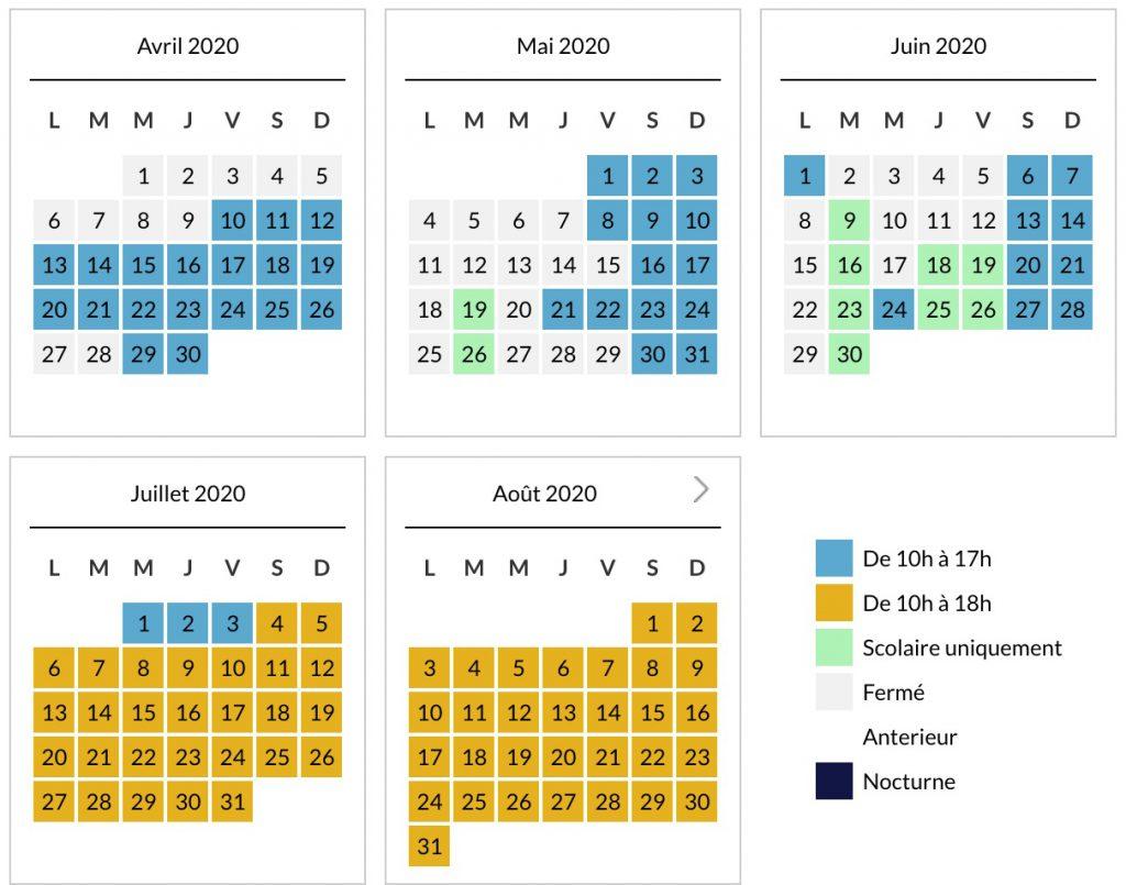 Dates ouverture Parc du Petit Prince et horaires, calendrier