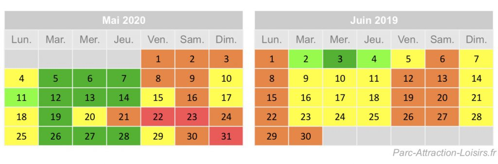 quelle date reserver pour sejour disneyland paris en mai et juin 2020 pour eviter les queues et files d'attente