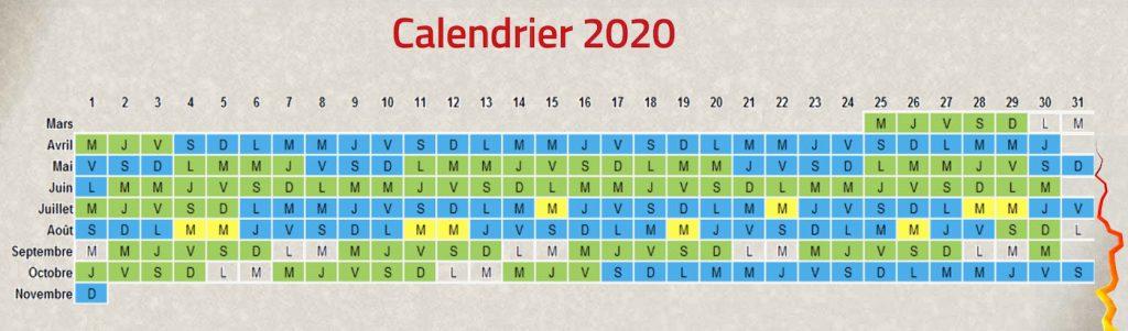 Dates et horaires d'ouverture du parc Vulcania d'auvergne en 2020