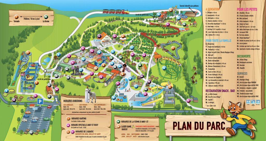 Plan parc Ange Michel