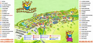 Plan Didi'land, attractions didiland paradisland