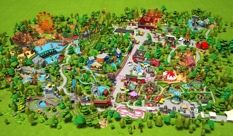 plan attractions parc bagatellle