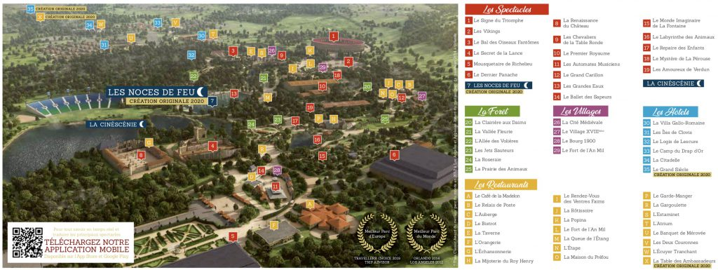 Plan du Puy du Fou