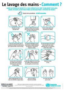 Comment se laver efficacement les mains face au coronavirus dans les parcs d'attractions