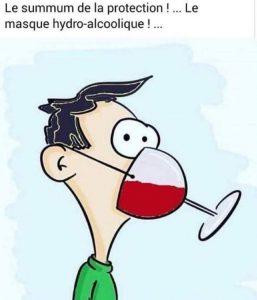 quel masque pour eviter coronavirus ? Celui-ci est au top humoir lol blague