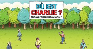 Le Cherchez Charlie version coronavirus et distanciation sociale