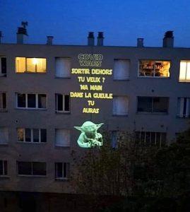 Yoda a un message pour le confinement