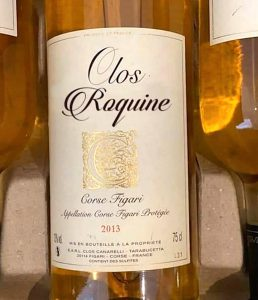 photo bouteille de vin marrante clos Roquine blage confinement
