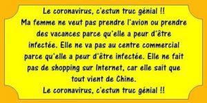 genial coronavirus et depenses
