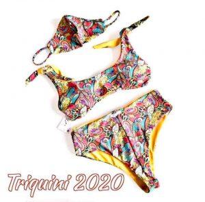 mode cet été à la plage le triquini 2020