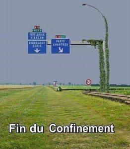 image : les autoroutes deviennent un champ vert à la fin confinement