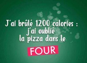 j'ai cuisiné confinement et brulé 1200 calories oubli pizza dans le four