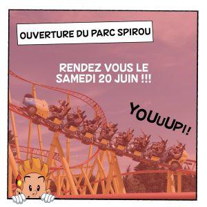 date-ré-ouverture du Parc Spirou en Provence sud France