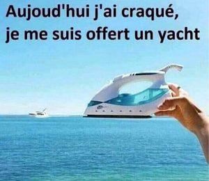 je me suis offert un yacht confinement