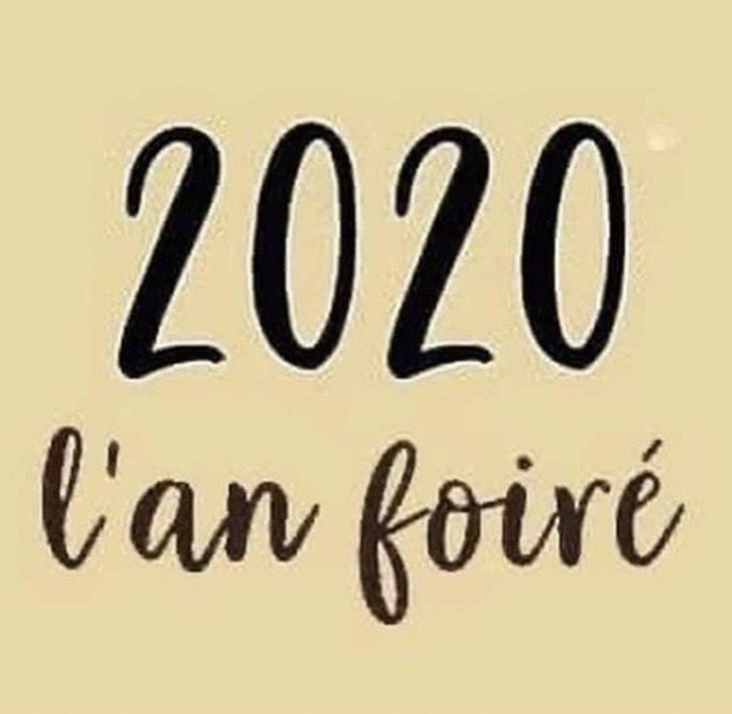 blague covid 2020 an foiré !
