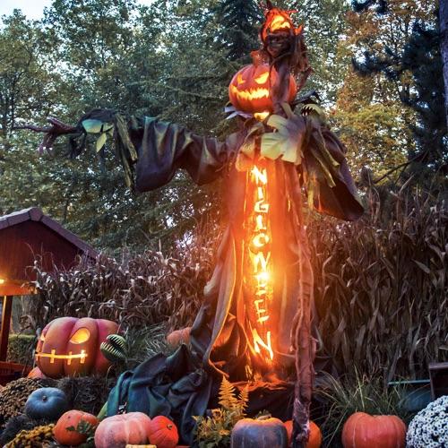 liste parc ouvert halloween vacances toussaint