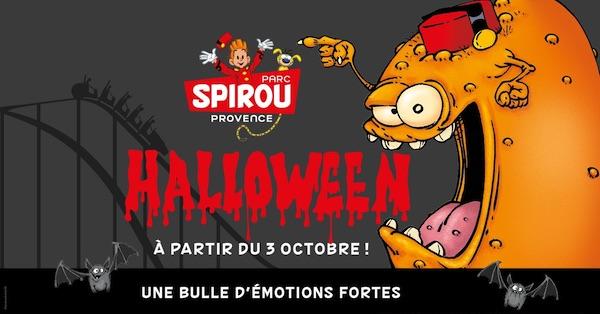 Parc SPirou date d'ouverture toussaint halloween