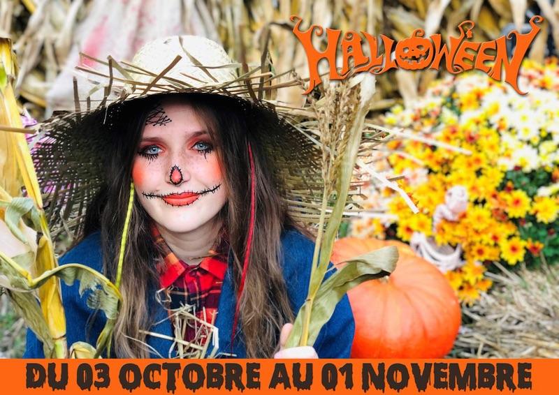 date ouverture parc st paul pour halloween et la toussaint