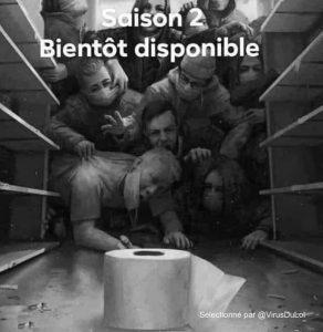 saison 2 covid-19 papier toilette humour meme couvre-feu octobre