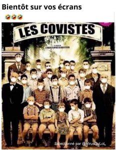 Déjà en salle, les Covistes ! marrant humour