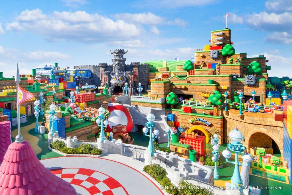 incroyable photo du parc nintendo world mario kart japon universal