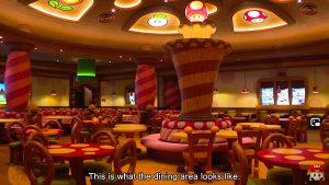 salle de restaurant super nintendo japon