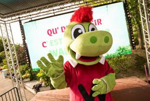 mascotte waly walygator sur ouest