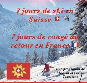 Envie de skier en Suisse à Noël ? C'est 7 jours de quarantaine au retour !