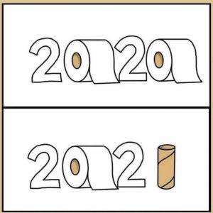 image drole rouleau papier toilette PQ 2020 2021