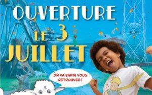 date ré-ouverture parc du petit prince juillet 2021