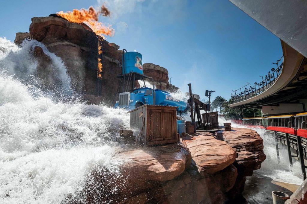 Date ouverture nouveauté 2021 Disneyland paris studio cars road trip