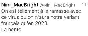 On est tellement en retard avec ce virus que l'on aura pas de variant français avant 2023 ! humour covid-19