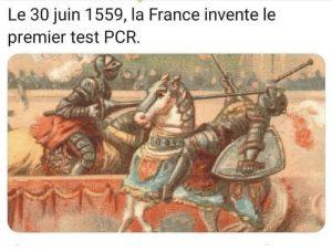 30 juin 1559, la France invente le premier test PCR
