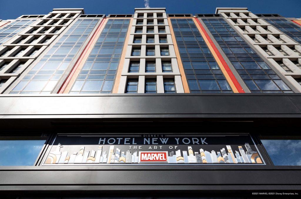 nouvel hotel new york marvel a disneyland