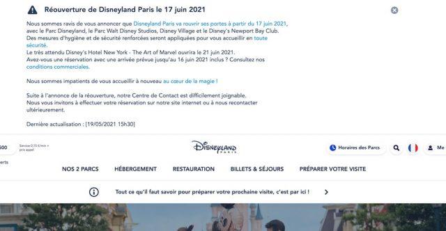 pass sanitaire disneyland Paris nécessaire ?