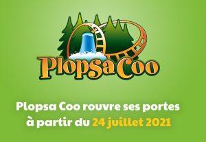re ouverture du parc plopsa coo belgique apres inondation